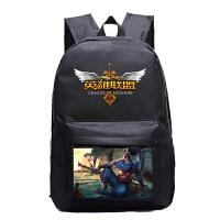 LOL背包 女双肩包中学生书包男动漫周边旅行包
