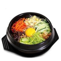 石锅拌饭专用石锅 陶瓷煲仔饭砂锅拌饭石锅鱼砂锅炖锅