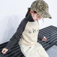№【2019新款】女童打底衫新款韩版高领长袖t恤秋冬款洋气儿童上衣