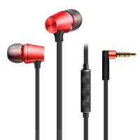 新款金属重低音耳机 磁吸立体声通用线控手机耳机KDK307