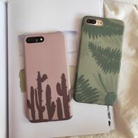 苹果xsmax清新植物手机壳春季iphone6s保护套7/8plus网红夏款
