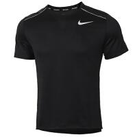 NIKE耐克男装运动短袖男训练跑步透气T恤AJ7566-010