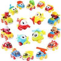 宝丽 Baoli 儿童小汽车玩具消防飞机惯性回力滑行车套装玩具车