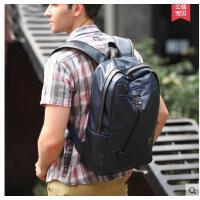 男士双肩包男包旅行包潮包背包韩版双肩包中学生书包电脑 可礼品卡支付