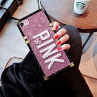 �O果x手�C��6s�W�tiphone7plus硅�z6sp全包iPhonexr防摔i8p女款i �O果6/6S-- 粉色plnk