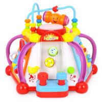 汇乐玩具台806快乐小天地儿童学习桌多功能益智游戏桌婴幼儿宝宝