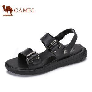 camel骆驼男鞋  夏季新品凉鞋男舒适时尚休闲清凉露趾沙滩鞋