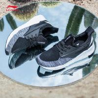 李宁休闲鞋男鞋运动时尚系列Exceed李宁云减震透气一体织运动鞋AGCM033