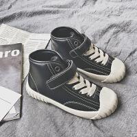 运动鞋秋冬女童休闲鞋子百搭男童白色棉鞋