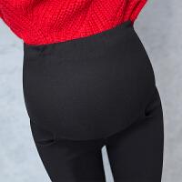 外穿小脚长裤保暖棉裤孕妇打底裤冬季加绒加厚孕妇裤春秋托腹裤子