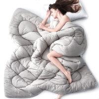 被子冬被棉被被芯春秋�稳穗p人被褥秋冬天加厚保暖棉太空被冬季