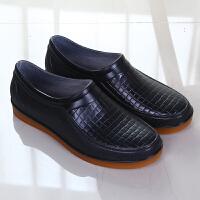 时尚雨鞋男短筒加绒防滑厨房低帮厨师专用工作鞋防水鞋男胶鞋雨靴