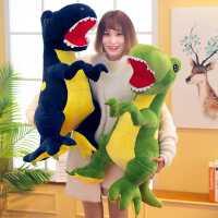 恐龙毛绒玩具霸王龙公仔大号玩偶可爱睡觉抱枕布娃娃男孩儿童礼物