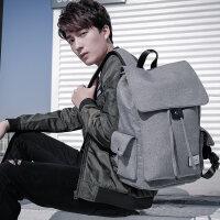 男士双肩包男休闲旅行背包韩版个性街头高中大学生书包女时尚潮流