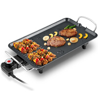 荣事达RS-KP136B家用韩式多功能无烟不沾电烧烤炉铁板烧电烤盘烤肉机