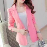 小西装女 外套 新款韩版修身显瘦长袖小西装女士外套大码休闲西服