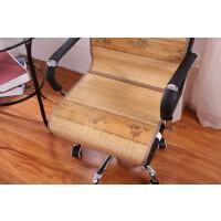夏季竹子凉席坐垫凉垫夏天网吧电脑椅办公室透气椅子垫座椅垫靠背