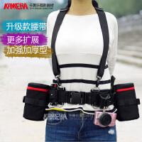 镜头袋单反相机快挂腰包镜头筒加厚单反配件相机腰带减压摄影腰带 挂扣++缓冲垫