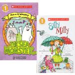 (198减40)Scholastic Reader L1 8册 学乐分级读物系列 常青藤爸爸推荐 图画故事书 SILL