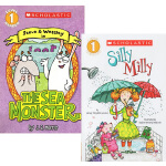 Scholastic Reader L1 2册 学乐分级读物系列 常青藤爸爸推荐 图画故事书 SILLY MILLY