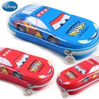 迪士尼汽车总动员学生笔袋3D立体铅笔袋大容量闪电麦昆文具笔袋男