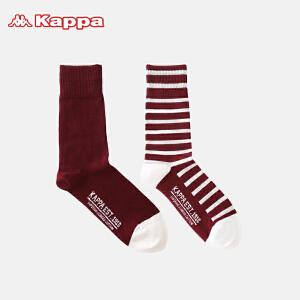 Kappa/卡帕(2双装)男士长筒袜时尚个性四季袜子KP8W02