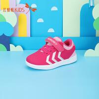【1件2折后:44.6元】红蜻蜓童鞋二棉粉红秋冬款皮面中大童保暖运动女童儿童板鞋