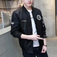 2018春季夹克男新款潮韩版棒球服秋装帅气上衣青少年薄款男士外套