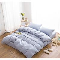 20191107091749673新款水洗棉床上四件套纯棉1.5床单床笠全棉三件套床上用品