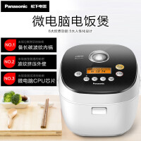 松下(Panasonic)电饭煲 SR-H15C1-K 4L/升(对应日标1.5l)家用多功能底盘加热 智能预约电饭锅