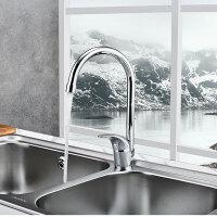 【限时直降】JOMOO九牧水龙头冷热厨房洗菜盆水槽洗碗池水龙头可旋转3344-065