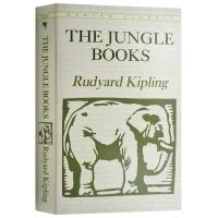 华研原版 丛林日记 丛林故事 英文原版 The Jungle Books 全英文版进口英语书籍 丛林日记经典文学正版