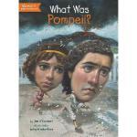 【现货】英文原版 What Was Pompeii? 庞贝古城是什么?who was/is认知系列 中小学生读物