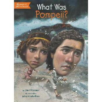 【现货】英文原版 What Was Pompeii? 庞贝古城是什么?who was/is认知系列 中小学生读物 国营进口!品质保证!