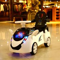 儿童电动扭扭车四轮1玩具车可坐人防侧翻男孩妞妞溜溜车