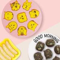 宝宝辅食工具婴儿硅胶蒸蛋糕米糕发糕布丁果冻耐高温模具烘焙家用