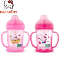 Hello kitty/凯蒂猫水杯婴儿学饮杯宝宝鸭嘴杯吸管杯