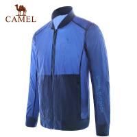 camel骆驼户外皮肤风衣 男女轻薄防晒衣防紫外线UPF40+