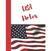 【预订】USA Notes: American Flag College Ruled Composition Writ