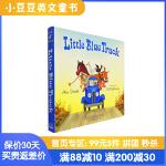 送音频 进口英文原版绘本 Little Blue Truck 蓝色小卡车 常青藤爸爸推荐 美国儿童图书馆协会读物 阅读