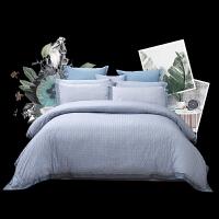 床上四件套全棉纯棉床品简约北欧风单人床单