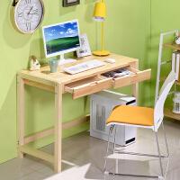 书桌 简易儿童学习桌电脑桌台式家用卧室书房客厅笔记本桌子简约现代办公桌写字台满额减限时抢*创意家具