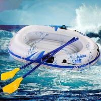 加厚充气船钓鱼船单人冲锋皮划艇捕鱼船单人气垫船  支持礼品卡支付