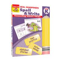 Evan-Moor Skill Sharpeners Spell & Write Pre K 幼儿园英语拼写练习册 学