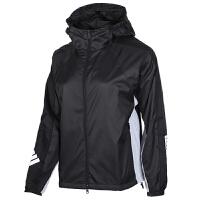 Adidas阿迪达斯女装运动休闲防风衣连帽夹克外套FL1850