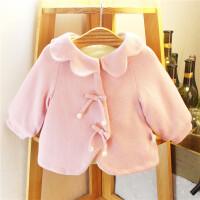 童装女童冬装外套婴幼儿宝宝上衣小童开衫