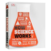 科学如何运作 How Science Works 英文原版 可视化图解案例 DK百科系列 精装 进口原版英语书 英文版