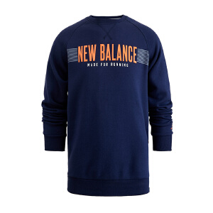 New Balance/NB卫衣 男子运动休闲套头衫AMT64602PGM