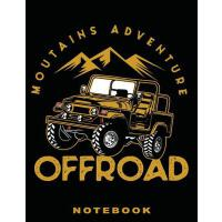 "【预订】Jeep: Off Road Mountain Adventure 8.5"" x 11"" Notebook:"
