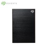 Seagate希捷4t 移动硬盘 Backup Plus 4TB 新睿品 2.5英寸 USB3.0移动硬盘 黑色 STDR4000300